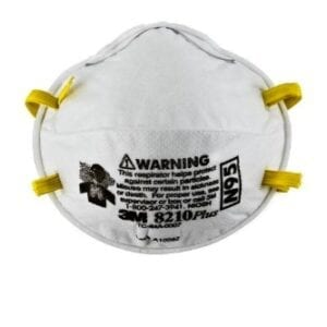 3M™ Particulate Respirator 8210Plus, N95 20 EA/Box